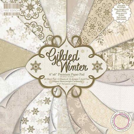 Set de papier 15x15 Gilded Winter (64f) – First Edition