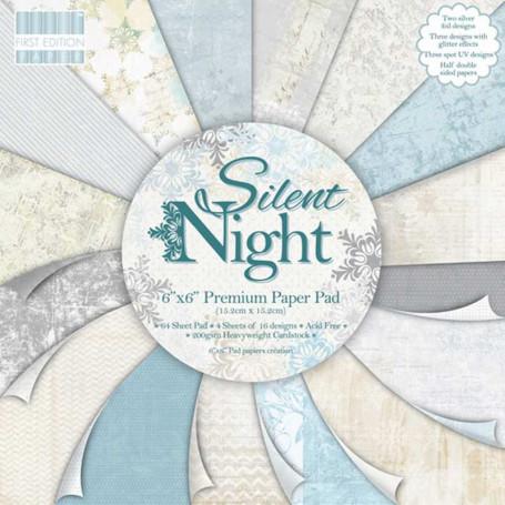 Set de papier 15x15 Silent Night (64f) – First Edition