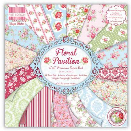 Set de papier 15x15 Floral Pavilion (64f) – First Edition
