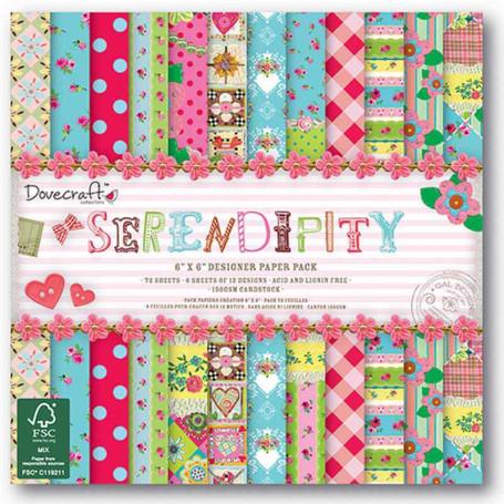 Set de papier 15x15 Serendipity (72f) – Dovecraft