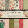 Set de papier 15x15 Sweet Paris (72f) – Dovecraft
