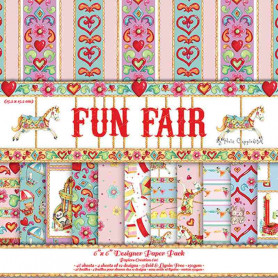 Set de papier 15x15 Fun Fair (48f) – Helz Cuppleditch