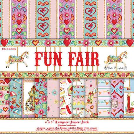 Set de papier 15x15 Fun Fair  (48f) – Helz Cuppleditch
