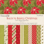 Set de papier 15x15 Back To Basics Christmas Traditional (72f) – Dovecraft