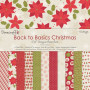 Set de papier 15x15 Back To Basics Christmas Traditional Vintage (72f) – Dovecraft