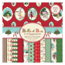 Set de papier 20x20 Christmas (36f) – Belle and Boo