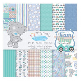 Set de papier 20x20 Tiny Taddy Teddy Boy (36f) – Me To You