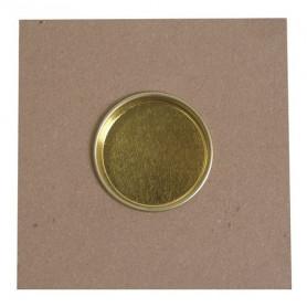 Bougeoir carré en MDF 10 x 10 cm– Artemio