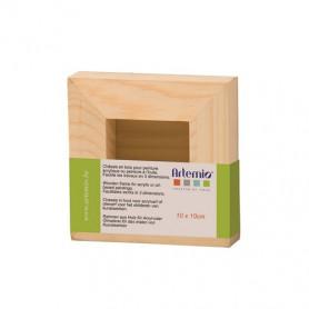 Châssis en bois carré 10 x 10 cm– Artemio