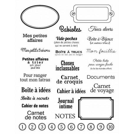 Tampons Etiquettes - Artemio