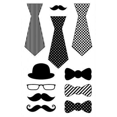 Tampons Cravates  9 x 14 cm - Artemio