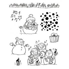 Tampons Bonhomme de neige - Artemio