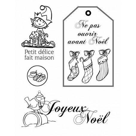 Mini Tampons Joyeux Noël - Artemio