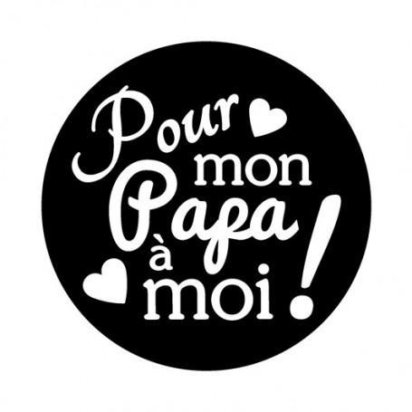 Kit Mini tampon et bloc Papa - Artemio