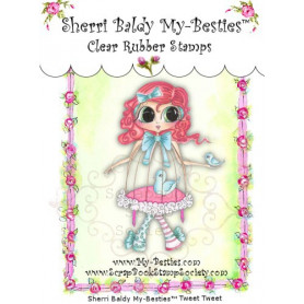 Tampon My Besties Tweet Tweet – Sherry Baldy – Clear Stamp