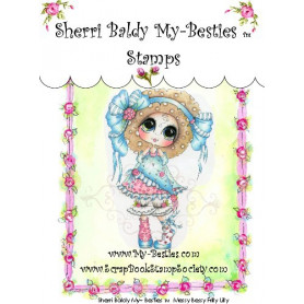 Tampon My Besties Messy Bessy Frilly Lilly – Sherry Baldy – Clear Stamp