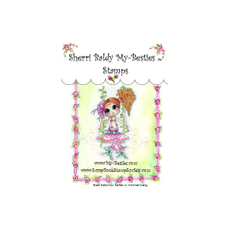 Tampon My Besties Summer Swing – Sherry Baldy – Clear Stamp