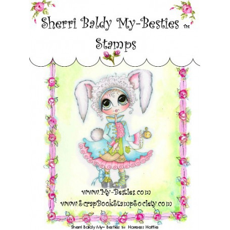 Tampon My Besties Hareess Hattie – Sherry Baldy – Clear Stamp