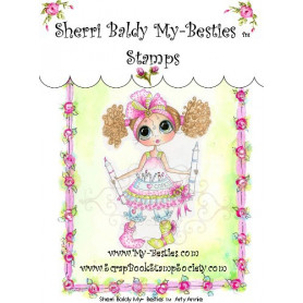 Tampon My Besties Arty Annie – Sherry Baldy – Clear Stamp