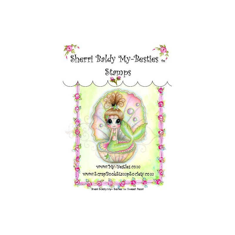 Tampon My Besties Sweet Pearl – Sherry Baldy – Clear Stamp
