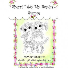 Tampon My Besties Wee Winged Ones Best Friends – Sherry Baldy – Clear Stamp