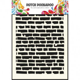 Pochoir A5 Brique – Dutch Mask Art - Dutch Doobadoo