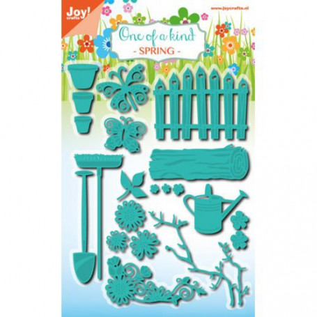 Dies Set de jardin Spring - Cut and emboss - Joycraft