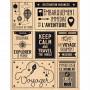 Tampon bois Voyage magique - Florilèges Design