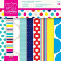 Set de papier 15x15 Spots & Stripes Brights (32f) – Capsule Docrafts Papermania