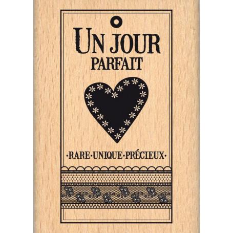Tampon bois Rare unique précieux - Florilèges Design