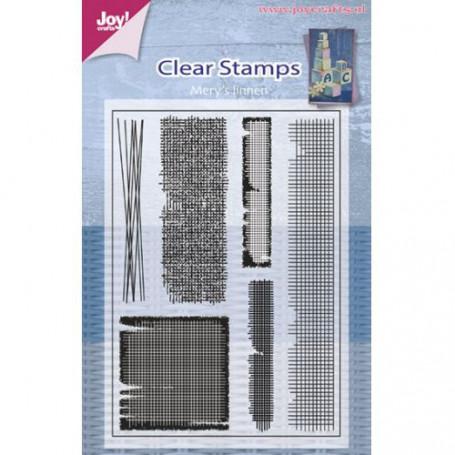 Tampons Texture Mery's linnen - JoyCraft