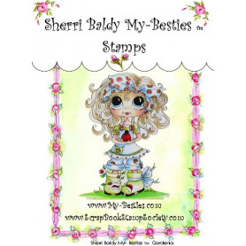Tampon My Besties Gardenia – Sherry Baldy – Clear Stamp