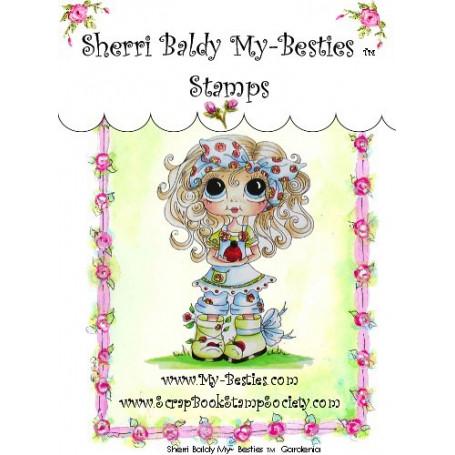 Tampon My Besties Gardenia – Sherry Baldy – Clear Stamp