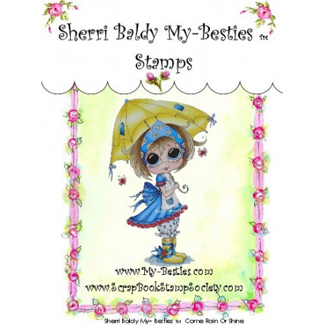 Tampon My Besties Rain Or Shine – Sherry Baldy – Clear Stamp