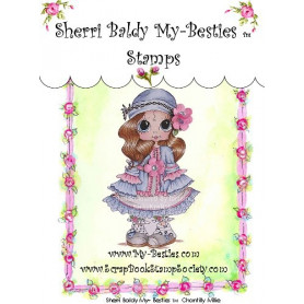 Tampon My Besties Chantilly Millie – Sherry Baldy – Clear Stamp