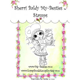 Tampon My Besties Cakes – Sherry Baldy – Clear Stamp