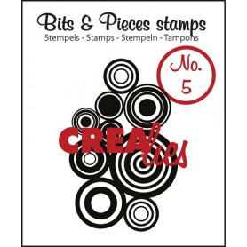 Tampon Circles all over – Bits and Pieces no 5 - Crealies