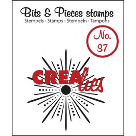 Tampon Sparkle Star – Bits and Pieces no 37 - Crealies