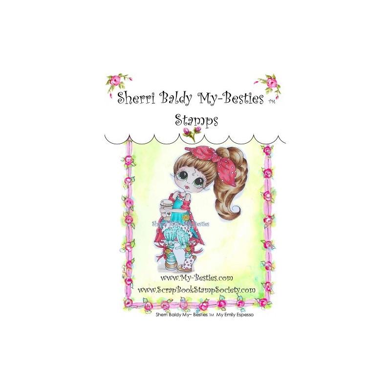 Tampon My Besties Emily Espresso – Sherry Baldy – Clear Stamp