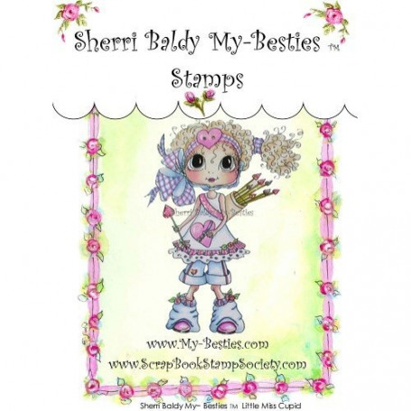 Tampon My Besties Little Miss Cupid – Sherry Baldy – Clear Stamp