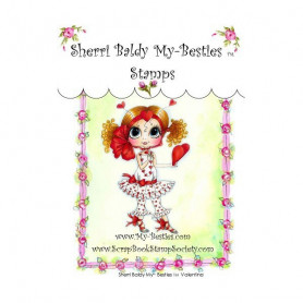 Tampon My Besties Valentina – Sherry Baldy – Clear Stamp