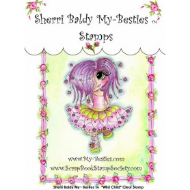Tampon My Besties Wild Child – Sherry Baldy – Clear Stamp
