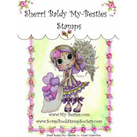 Tampon My Besties Violet Valentine – Sherry Baldy – Clear Stamp
