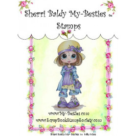 Tampon My Besties Milly Mae – Sherry Baldy – Clear Stamp