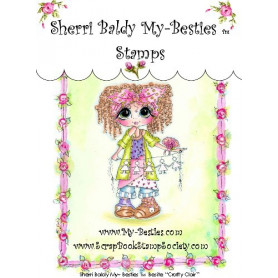 Tampon My Besties Crafty Clair – Sherry Baldy – Clear Stamp