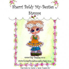 Tampon My Besties Sweetie Pie – Sherry Baldy – Clear Stamp