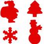 Set de 4 perforatrices Hiver - Artémio