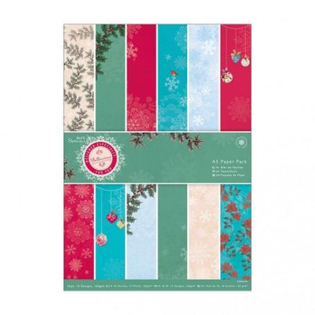 Set de papier A5 Bellissima Christmas (36f) – Docrafts Papermania