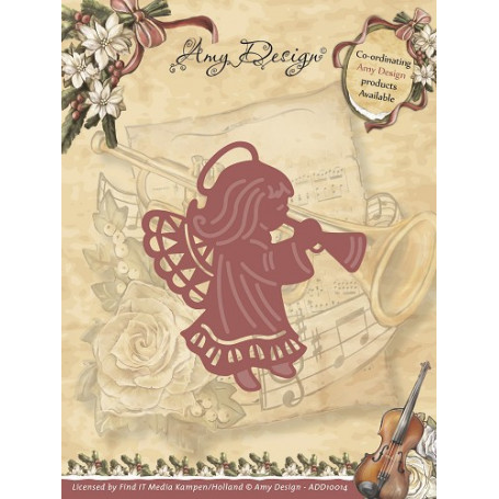 Die Angel - Vintage Christmas Collection Die - Amy Design