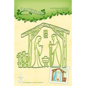 Dies Nativity Scene - Lea'bilities - Leane Creatief